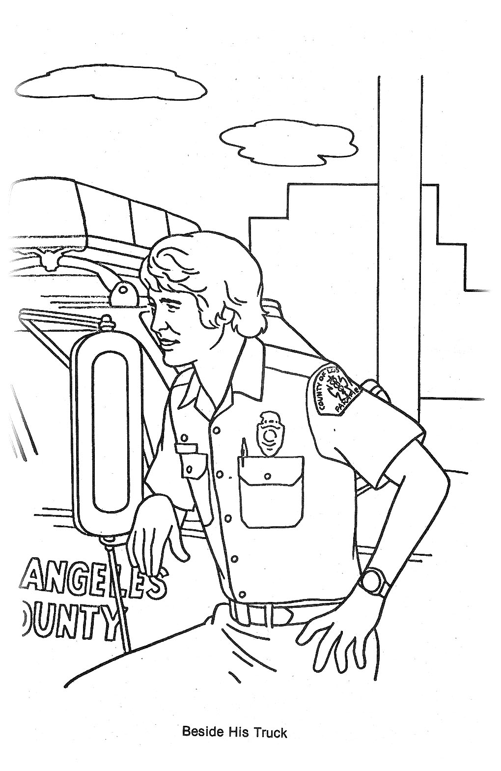 Emergency tv show coloring pages sketch coloring page for Emergency coloring pages